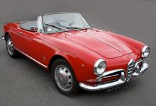 Alfa Romeo Giulia spider junior 1962